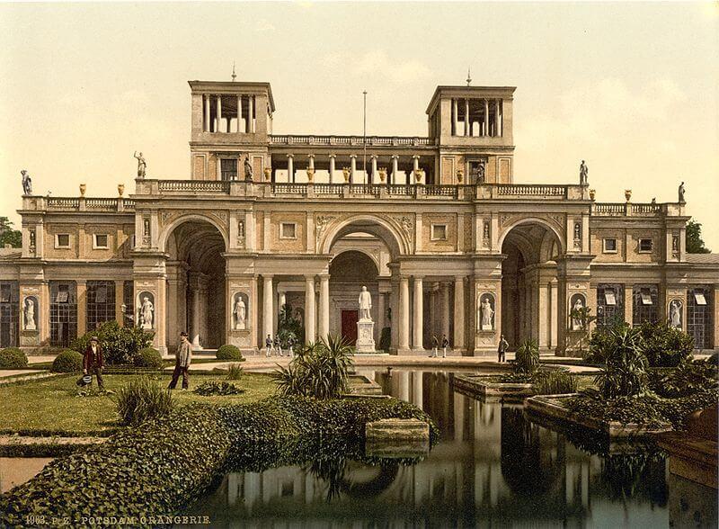 ארמונו של פרידריך השני מלך פרוסיה -נחלת הכלל